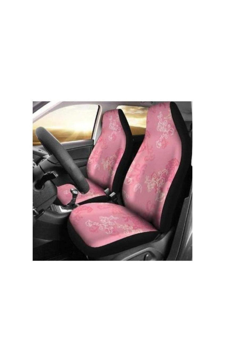 Pink Horse Pattern Car Seat Covers