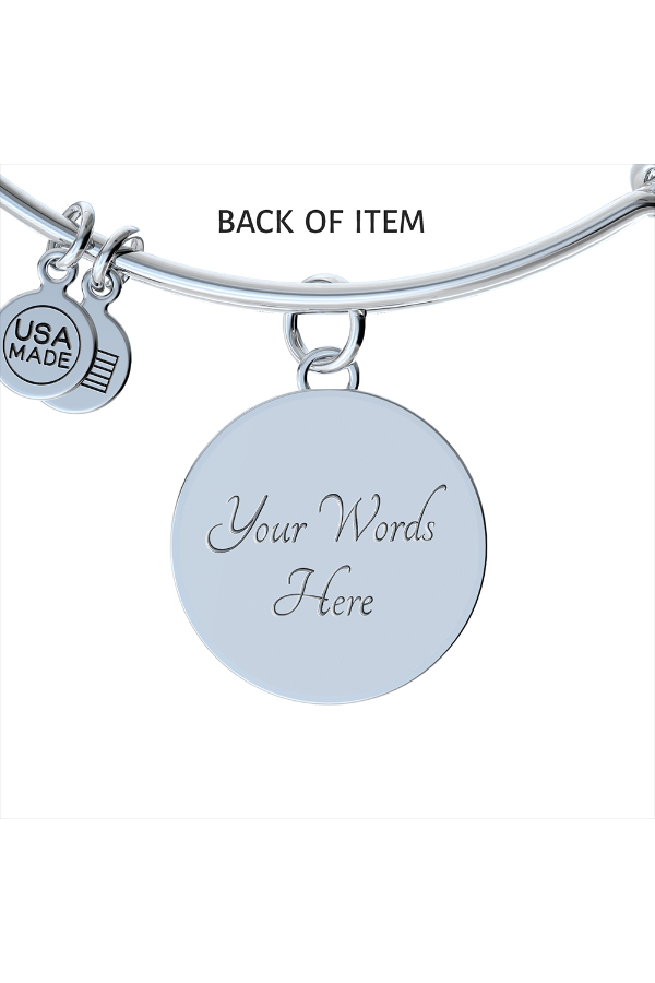 Personalized Steel Necklace and Bangle