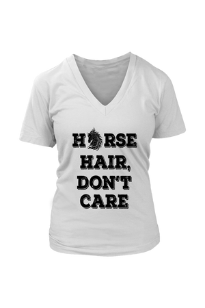 Gray Horse Hair Don't Care T-Shirt