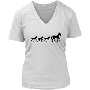 Light Gray Three Foal - T-Shirt