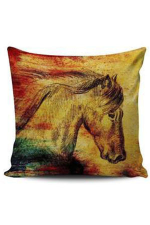 Goldenrod Premium Poly-Cotton Cushion Cover