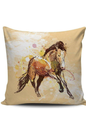 Tan Premium Poly-Cotton Cushion Cover