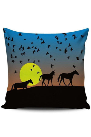 Yellow Green Premium Poly-Cotton Cushion Cover