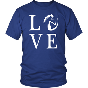 Midnight Blue Horse Love T-Shirt