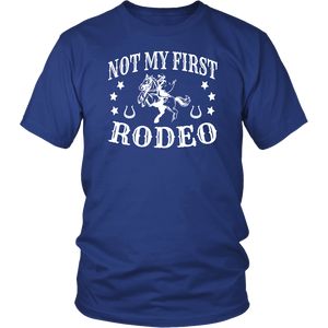 Midnight Blue Not My First Rodeo - T-Shirt