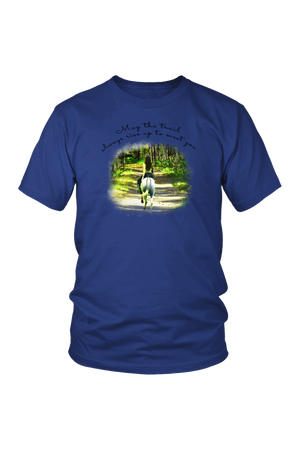 The Trail Always Rise - Tops-T-shirt-teelaunch-Unisex Tee-Royal Blue-S-Three Wild Horses