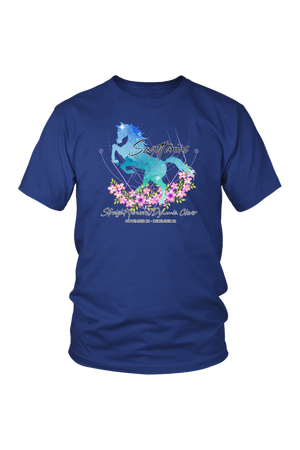 Sagittarius Horse Unisex Shirt-T-shirt-teelaunch-District Unisex Shirt-Royal Blue-S-Three Wild Horses
