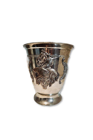 Vintage One-Of-A-Kind Handmade Decorative Vase With Bronco Horse Antique Style-Home Decor-Three Wild Horses-Three Wild Horses