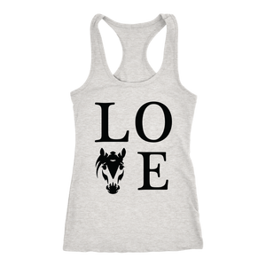 Light Gray Horse Love T-Shirt