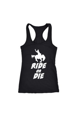 Black Ride or Die T-Shirt in Black