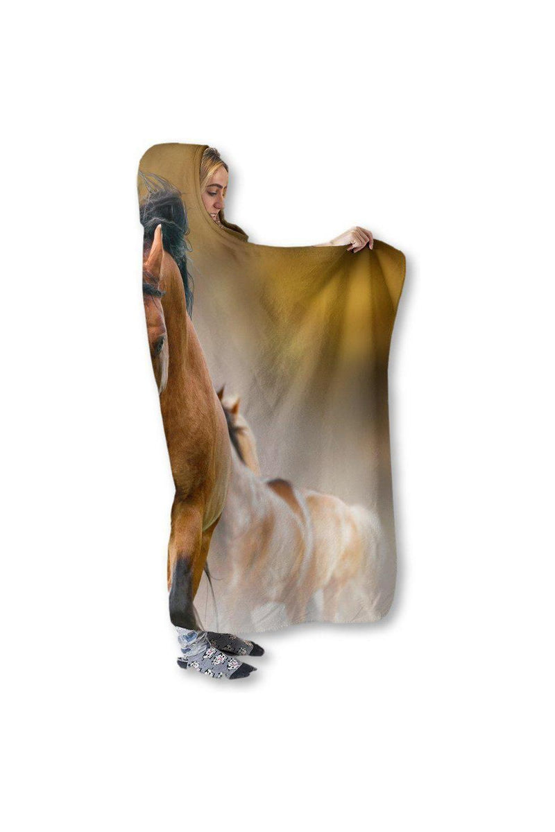 Horse Hooded Blanket Right View