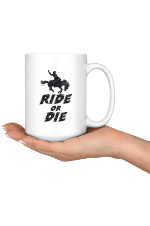 Snow Ride or Die Mug