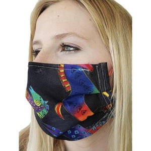 Horse Theme Face Mask + Colorful-Health & Wellness-Three Wild Horses-Three Wild Horses