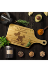 Horse Print Cutting Board
