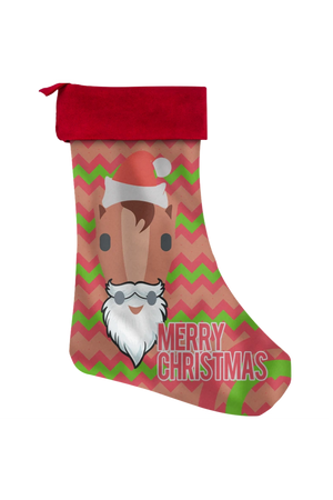 Merry Christmas Stockings-Christmas Stockings-teelaunch-Christmas Stocking-Three Wild Horses