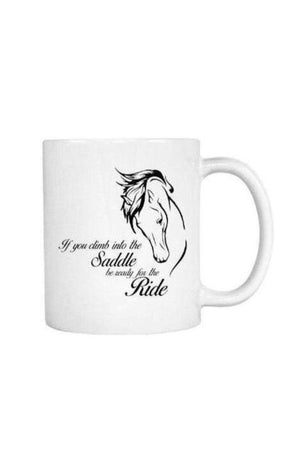 Horse Riding - Mug-Drinkware-teelaunch-COFFEE MUG 11 OZ-Three Wild Horses