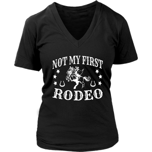 Black Not My First Rodeo - T-Shirt