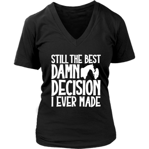 Black Still The Best Decision T-shirt in Black