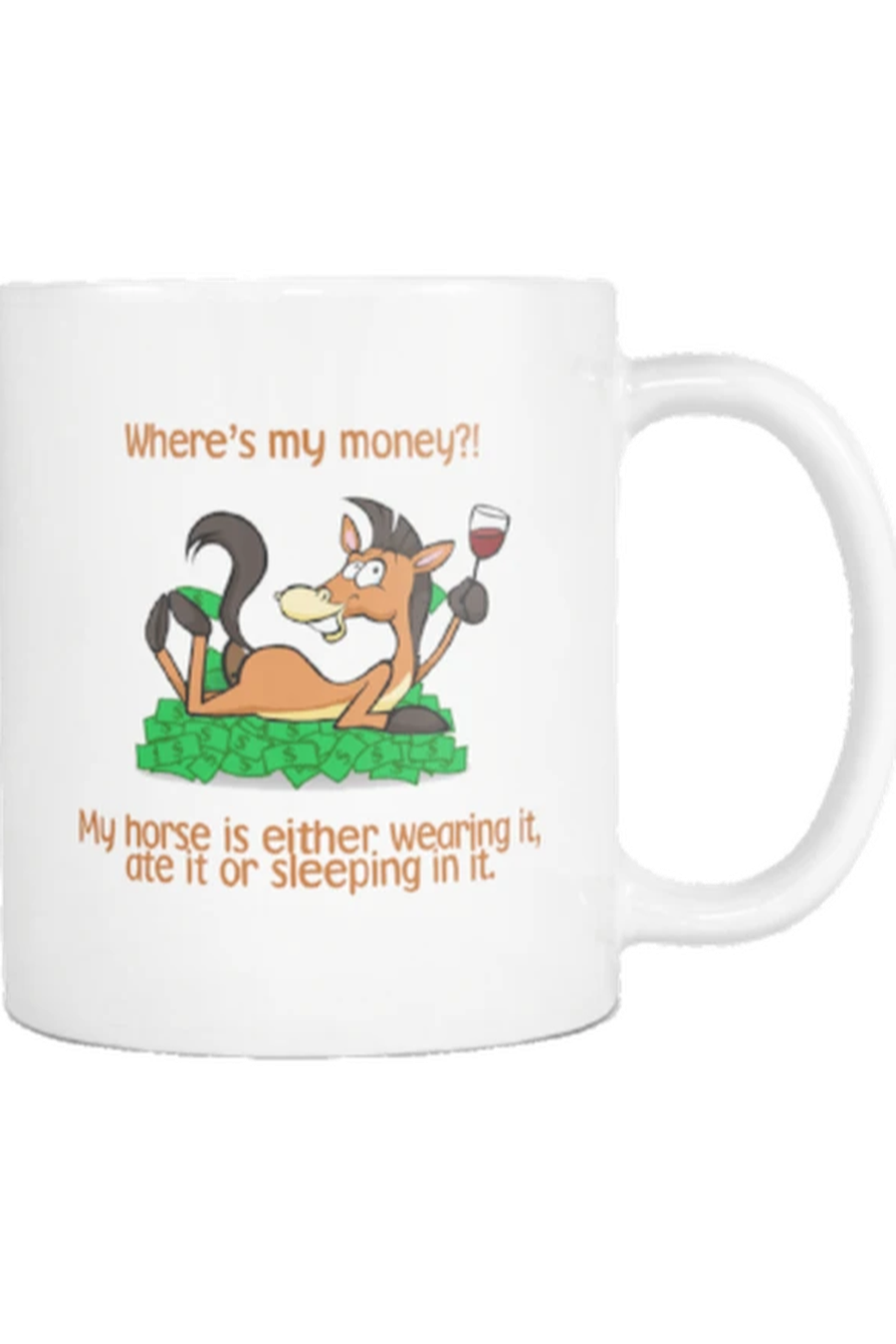 Where's My Money - Mug