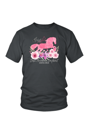 Aries Horse Unisex Shirt-T-shirt-teelaunch-District Unisex Shirt-Charcoal-S-Three Wild Horses