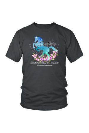 Sagittarius Horse Unisex Shirt-T-shirt-teelaunch-District Unisex Shirt-Charcoal-S-Three Wild Horses