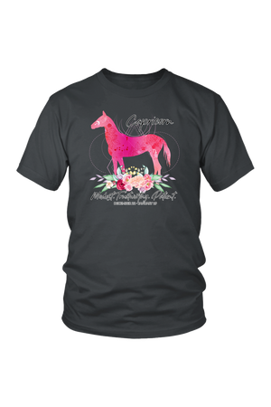 Capricorn Horse Unisex Shirt-T-shirt-teelaunch-District Unisex Shirt-Charcoal-S-Three Wild Horses