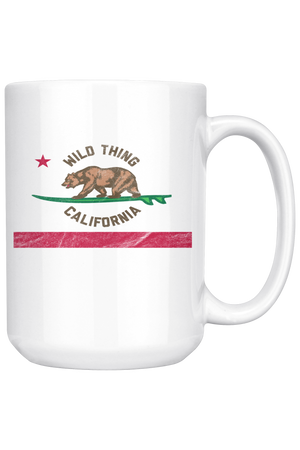 Maroon Wild Thing California Mug