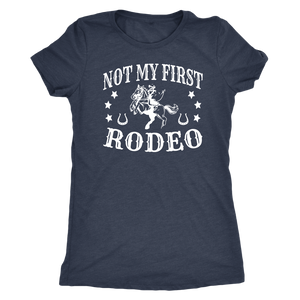 Dark Slate Gray Not My First Rodeo - T-Shirt
