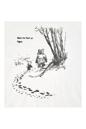 Piglet & Pooh Funny Tee Shirt NSFW-Madison Private Label-small-Three Wild Horses