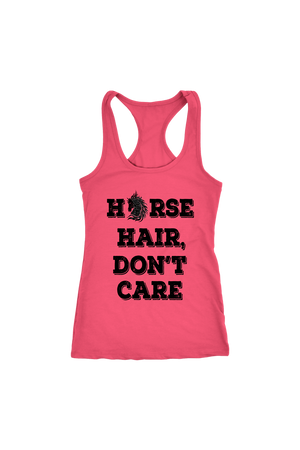 Salmon Horse Hair Don't Care T-Shirt