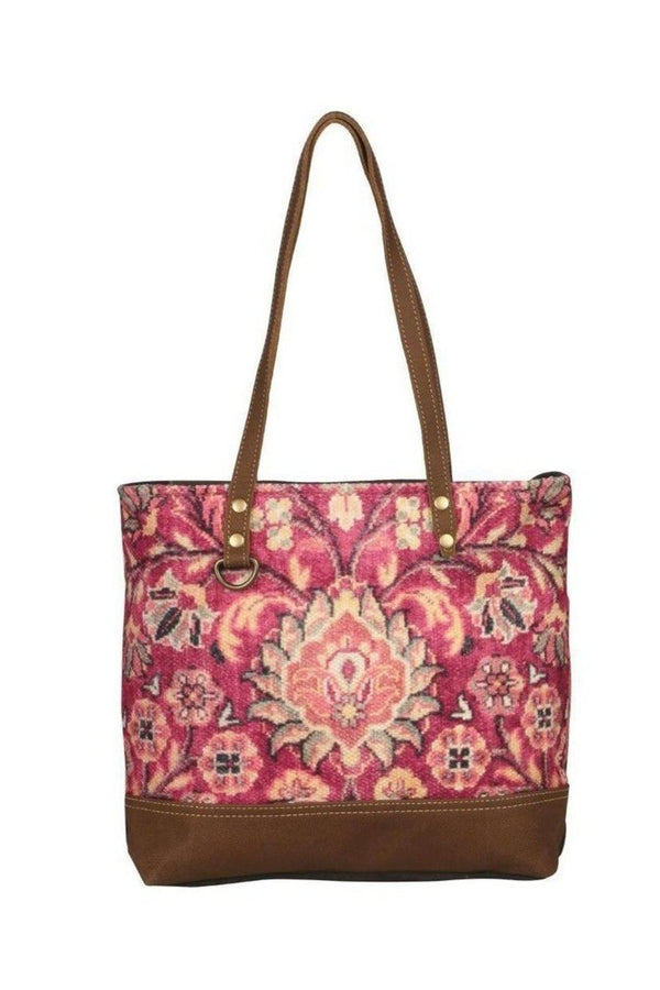 Blossom Flower Art Canvas Tote Bag