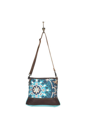 Magic Aqua Small Cross Body Bag-Bags-Myra Bag-Three Wild Horses