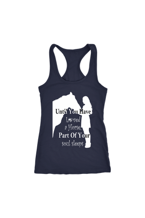 Dark Slate Gray Until You've Loved a Horse Part of Your Soul Sleeps T-Shirt