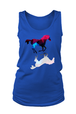 Foaling Around - Tank Tops-Tops-teelaunch-Royal Blue-S-Three Wild Horses