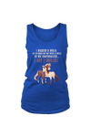 Compromise With Your Husband And Get 2 Horses - Tank Tops