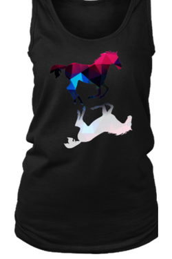 Foaling Around - Tank Tops in Black