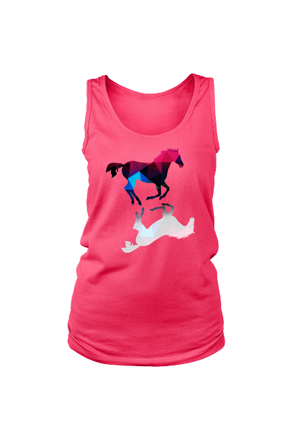 Foaling Around - Tank Tops in Pink