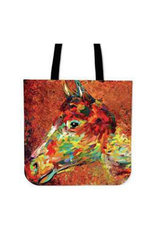 Sienna Surreal Horse Art - Tote Bag
