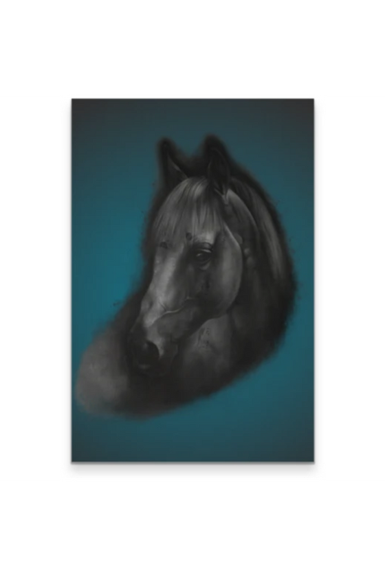 The Horse Portrait - Canvas