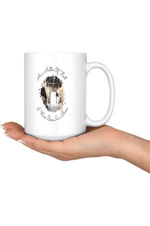 Born In A Barn Mug-Drinkware-teelaunch-COFFEE MUG 15 OZ-Three Wild Horses