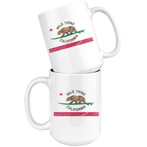 White Smoke Wild Thing California Mug