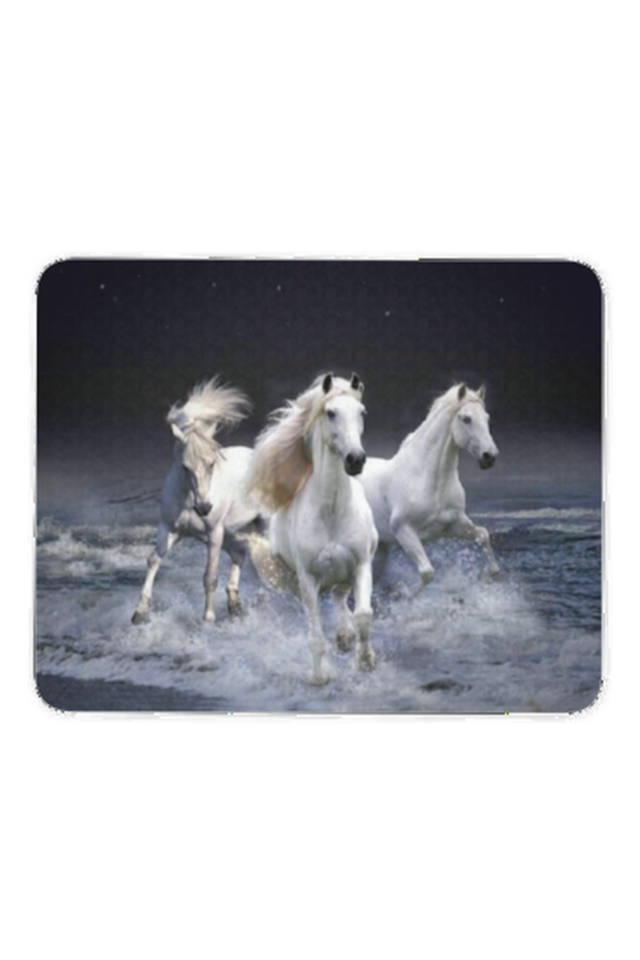 Three White Horses - Mouse pad