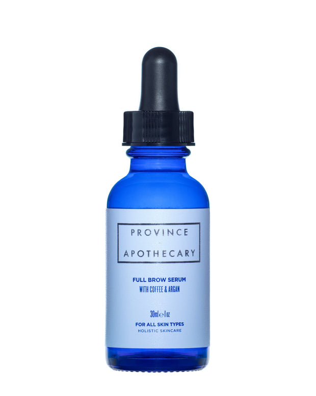 All natural brow serum to fortify hair and encourage fuller looking brows.