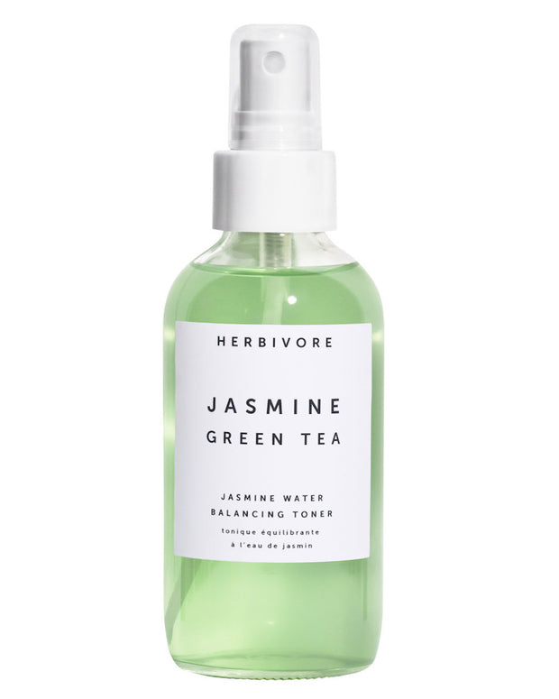 Organic Jasmine Water is infused with antioxidant-rich Green Tea and a clarifying combination of Salicin-rich Willow Bark and Aloe Vera. Suitable for all skin types. Great for balancing skin PH and to improve serum absorption. Great for acne-prone or combination skin. Natural, vegan, cruelty-free with organically sourced ingredients.