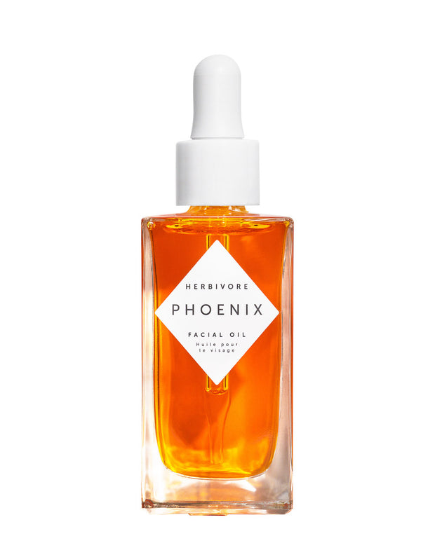 Renew your skin with a blend of luxe botanical oils and CoQ10. Phoenix Facial Oil dramatically re-hydrates and revitalizes dry skin or any skin in need of replenishment and deep renewal. Rose Hip Omega Fatty Acids 3, 6, and 9 to visibly plump skin. Sea Buckthorn is a rich and deeply hydrating oil with great benefits to the skin including smoothing, visibly plumping and deeply nourishing and re-hydrating dull, dry skin. Natural, vegan, cruelty-free with organically sourced ingredients.