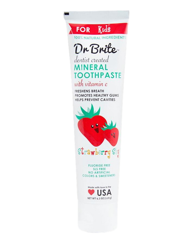 Kids Mineral Toothpaste - Strawberry