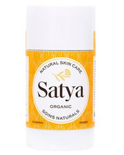 Relieve skin inflammation, itching and irritation. Satya helps retain moisture, reduce flaking, cracking, roughness and restore suppleness to dry, damaged skin. Ideal for: eczema, dermatitis, psoriasis, burns, rash, chafing, chapping, insect bites and wound healing. 50ml stick. Natural, cruelty-free with organically sourced ingredients.