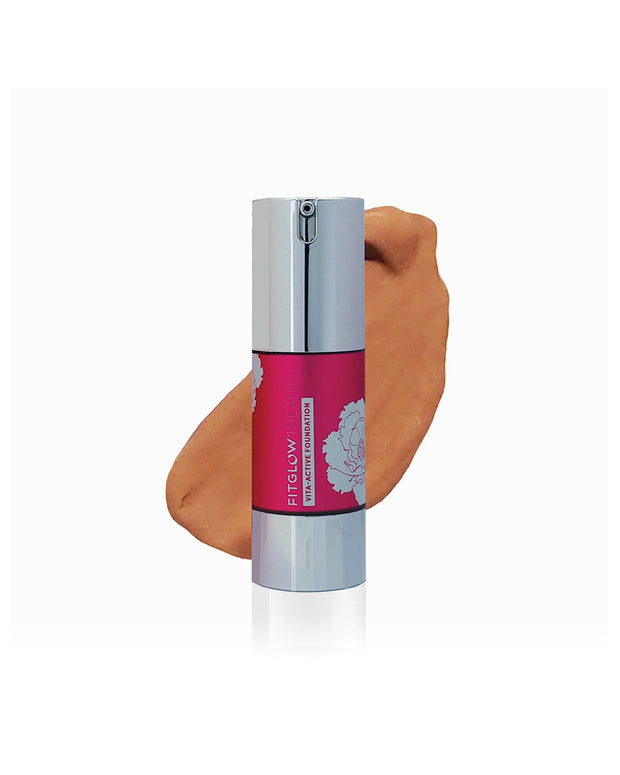 Foundation with built in skincare. Increases natural moisture level, protects from environmental damage, UV, boosts collagen and smoothing down age lines. Improves skin's suppleness, elasticity and tone. plant-based, skin-loving blend of Vitamin C, Botanical Hyaluronic Acid, Seaweed Brighteners, and Beta-Carotene increases collagen production and dramatically boosts skin's ability to diminish spots, freckles, hyperpigmentation, sun damage, and improves elasticity.