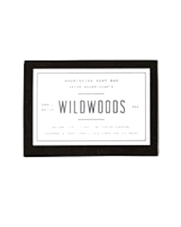 Woodlot Wildwoods-All Natural Nourishing Soap Bar. Made in Canada