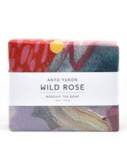 Wild Rose soap is made with wild harvested rosehip tea. Rosehip powder is also added, giving this bar a huge kick of vitamin C ~ excellent for your skin. This soap uses all natural ingredients, colourants, and essential oils.